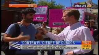 mvil en vivo protesta de maestros de los cenma canal 10