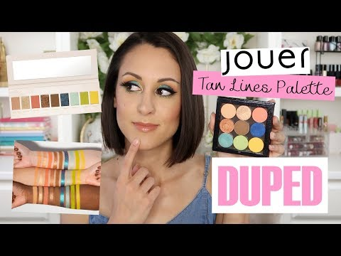 Can I Dupe It? Recreating the Jouer Tan Lines Palette with Single Shadows thumbnail