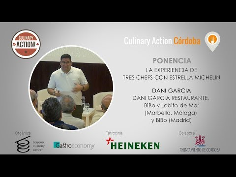 Culinary Action! Córdoba DANI GARCÍA