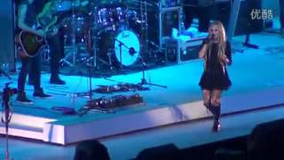 Video Avril Lavigne - Here's To Never Growing Up Live @ Guangzhou, China (03.08.2013) download MP3, 3GP, MP4, WEBM, AVI, FLV Juli 2018