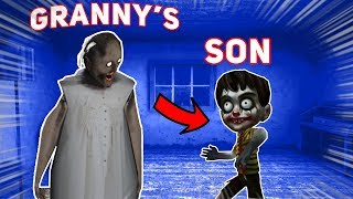 Granny Has A SON WHO IS JUST LIKE HER!!! | Granny The Mobile Horror Game (Knock Offs/Rip Offs)