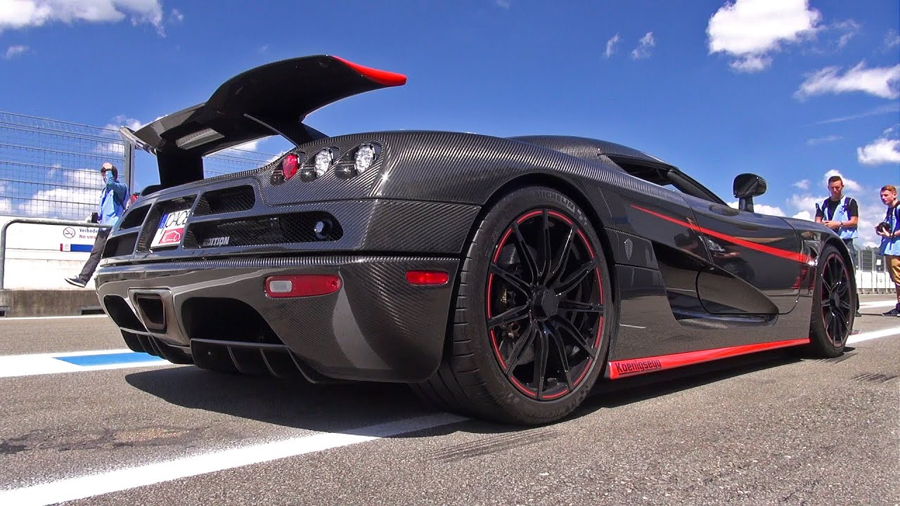 Koenigsegg CCX Edition Full Carbon - Exhaust Sounds! - YouTube