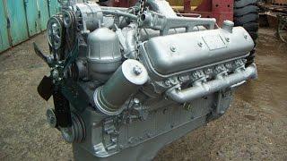 Ремонт двигателя ЯМЗ 240, запуск после ремонта