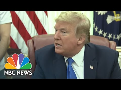 'Let's Keep It Going': Trump On Changing Mind To Continue The Coronavirus Task Force   NBC News NOW