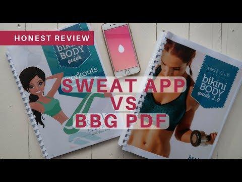 HONEST BIKINI BODY GUIDE REVIEW | BBG 1 & BBG 2 PDF | SWEAT APP BY KAYLA
