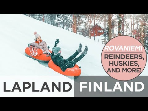 The BEST Time In Lapland, Finland | Camille Co