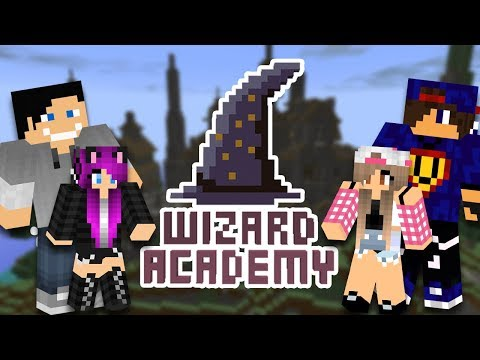 Minecraft : Wizard Academy  [1/x] w/ Undecided, Tula, Guga