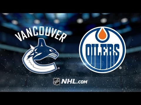 Oilers rout Canucks in final game at Rexall Place