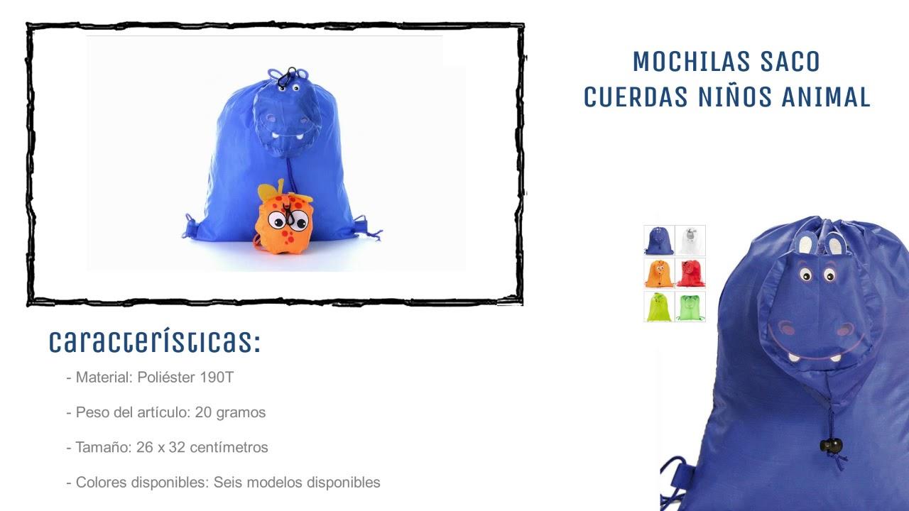 eeef57721 Mochilas personalizadas niños Animal