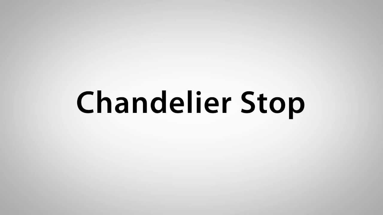 Chandelier stop loss youtube chandelier stop loss mozeypictures Images