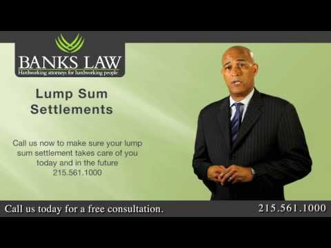 Banks Law - Pennsylvania Workers Compensation Lump Sum Settlements