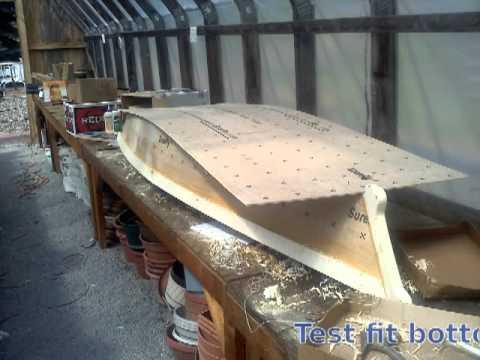 Tango Skiff XL Stitch and Glue Okoume Wooden Boat | FunnyDog.TV