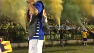 Himno de santander / Bucaramanga vs nacional / 09-Feb-2017 - FORTALEZA LEOPARDA SUR 2017