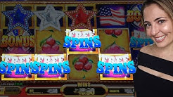 4 SYMBOL BONUS on American Stars Game at Wind Creek!