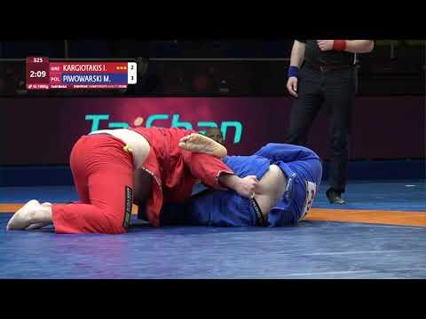 GOLD Men's GP Gi - +100 kg: I. KARGIOTAKIS (GRE) v. M. PIWOWARSKI (POL)