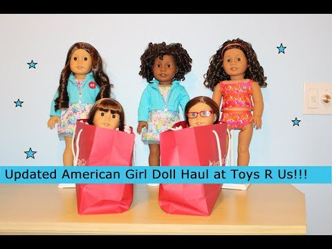 Updated Huge American Girl Doll Haul At Toys R Us!!!