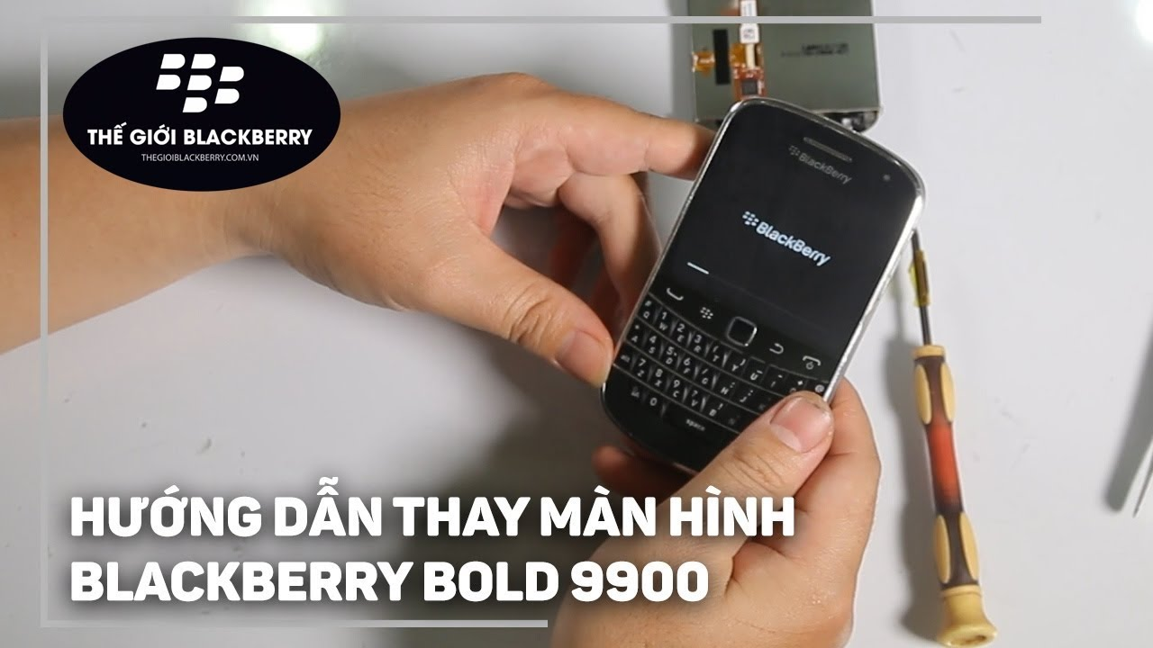 Image result for thay màn hình blackberry 9900