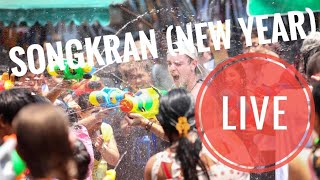 Songkran (New Year) in Chiang Mai / Water Fights