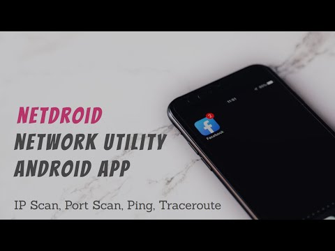 Netdroid Network Utility Android App (App Demo)