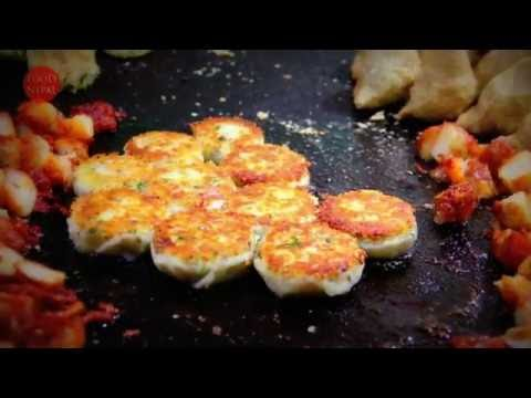 आलु टिक्की चाट (Potato Cutlet Chat) In Kathmandu - Food Nepal