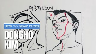 How to Draw Faces - Dongho Kim