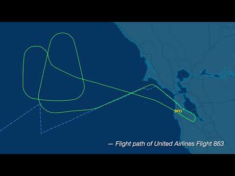 AUDIO: United Airlines flight makes emergency landing in San Francisco