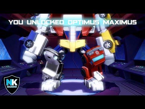 Angry Birds Transformers 2.0 - Unlocking New Character Optimus Maximus