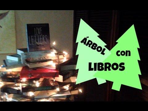 Arbol de navidad con libros youtube - Arbol de navidad con libros ...