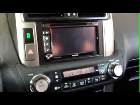 Toyota Land Cruiser Prado >> Cómo cambiar radio en Toyota Land Cruiser - YouTube