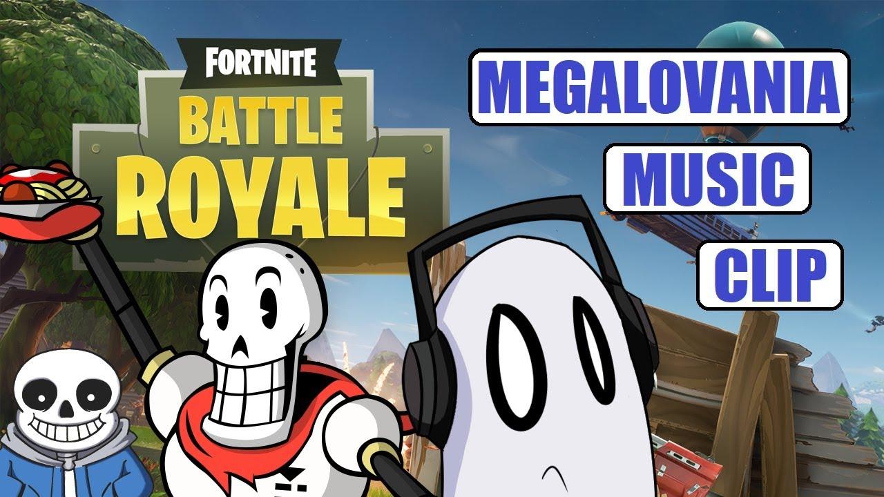 megalovania music clip fortnite battle royale - megalovania fortnite