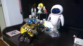Repeat youtube video interaction Wall-e & Eve by Thinkway Toys