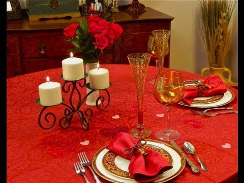 The Romantic Table Setting Ideas YouTube