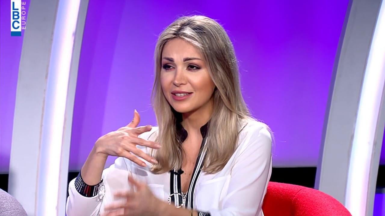 بتحلى الحياة –   نجمة برنامج نقشت ايفونا نادر وزوجها نايف نعمة