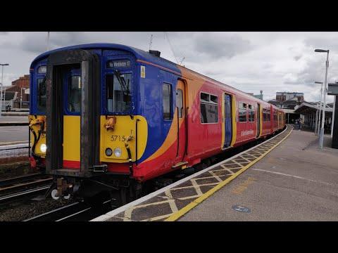 A Few Trains At Clapham Junction - 26 June 2021