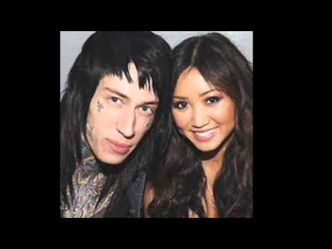 Brenda Song and Trace Cyrus kissing compilation