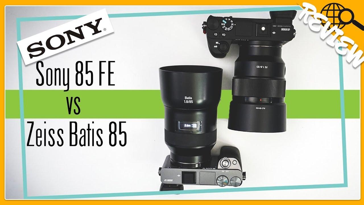 sony 85. sony fe 85mm f1.8 vs zeiss batis 85