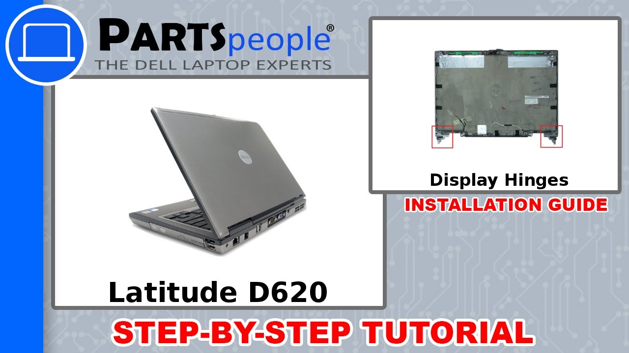 dell latitude d620 pp18l display hinges how to video tutorial rh youtube com Dell Latitude D620 Laptop Dell Latitude D820 Wireless Switch
