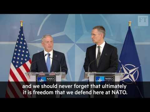 US Secretary of Defence James Mattis on future of Nato