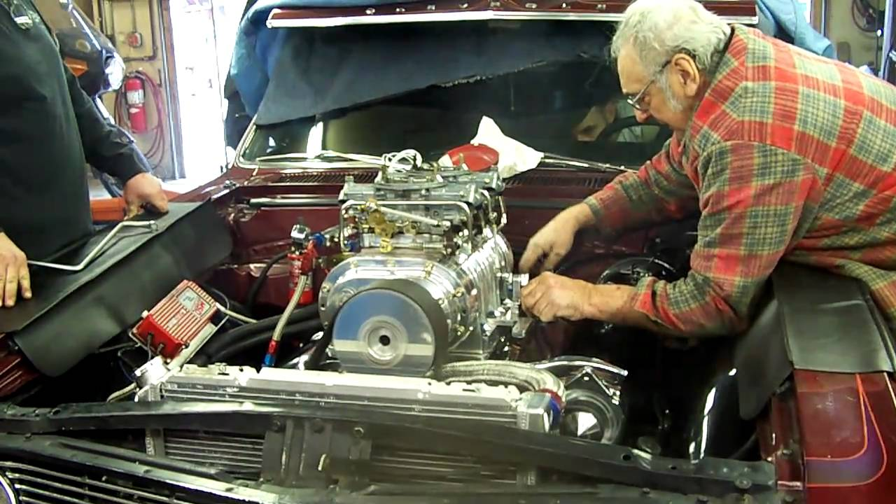 1964 Elcamino with Chevy 468 BB & 871 BDS blower first ...
