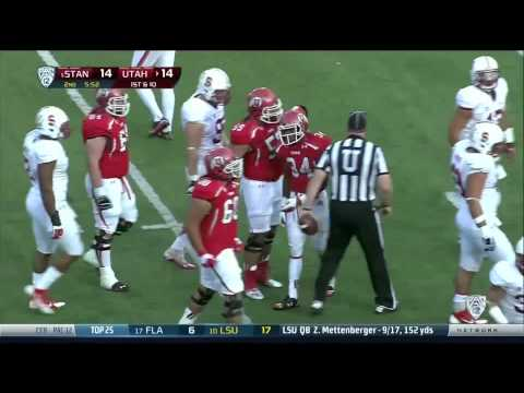 2013 Utah vs. Stanford - The Drive