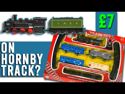A £7 Train Set   Working on Hornby Track?