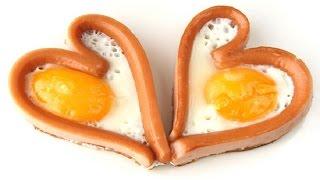 Яйцо в сардельке - прикол!