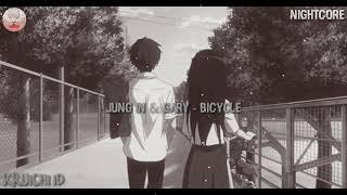 [ NIGHTCORE ] • Bicycle - JungIn&Gary.-