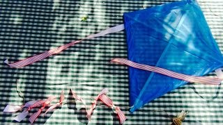 Kite flying: How to make a homemade kite