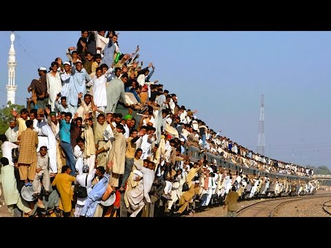 World's Most INSANELY Populated Places!