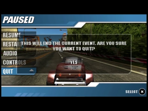 Burnout Legends (PSP) Final Legends GP & Takedown Trophies