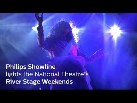 Philips Showline lights the National Theatre's River Stage Weekends
