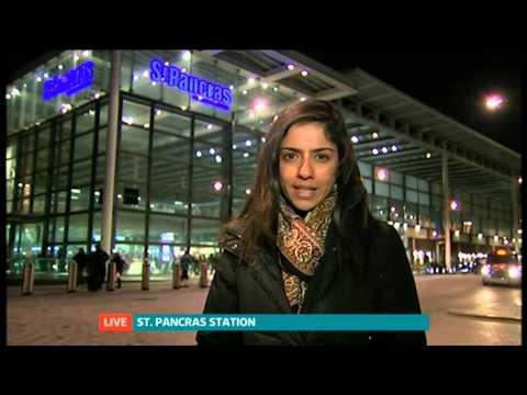ITV News live car crash on-air
