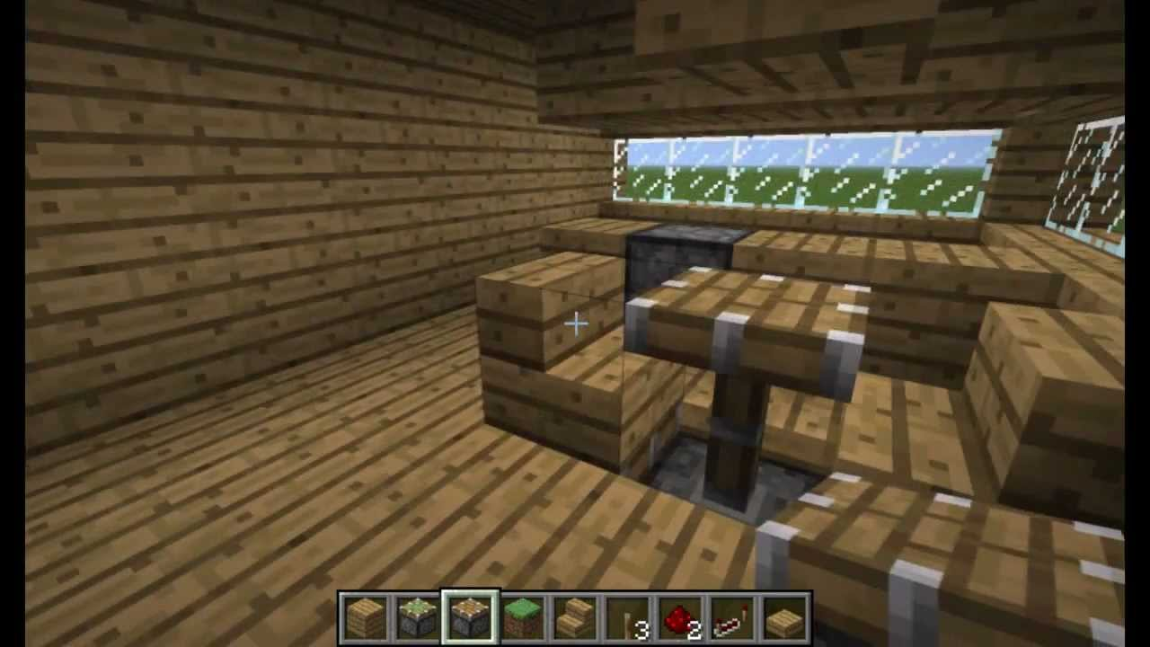 Minecraft Bitesize:Popup Tables n Chairs