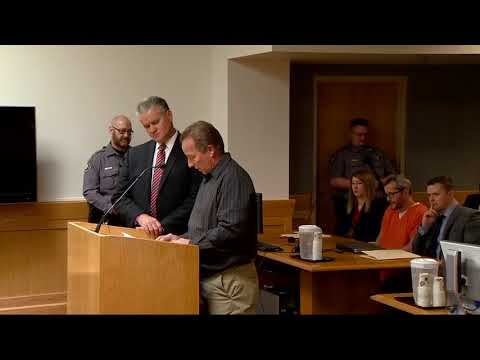 Frank Rzucek makes statement at Chris Watts sentencing